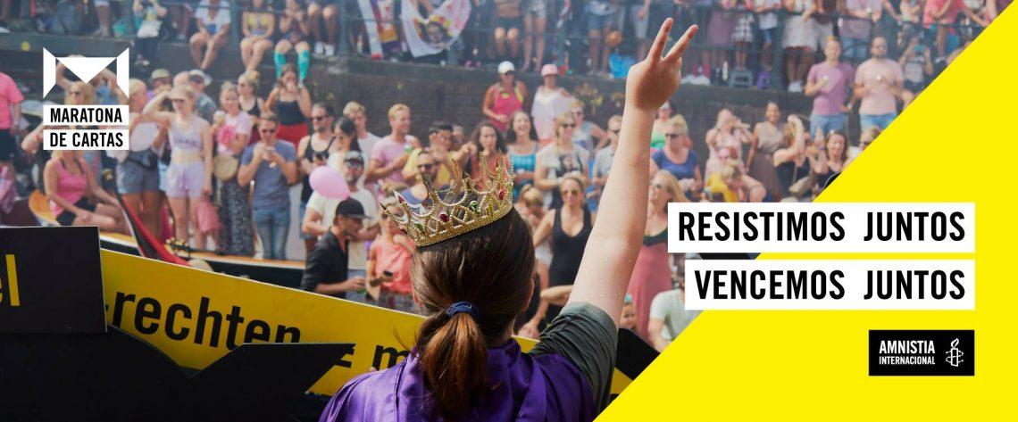 Maratona de cartas - Amnistia
